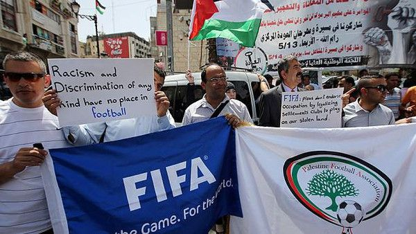 Palestinian Football Association Push Ahead To Suspend Israel From FIFA