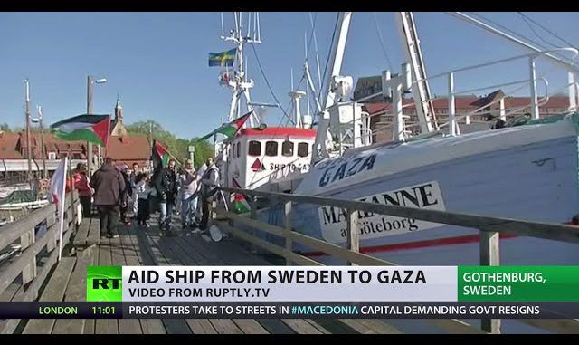 Freedom Flotilla Heads To Palestine, Defying Gaza Blockade