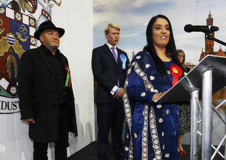 George Galloway-Naz Shah