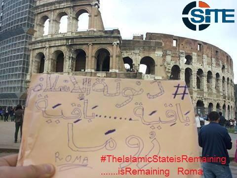 Media Rekindles Alleged Threat Against Rome by ISIS