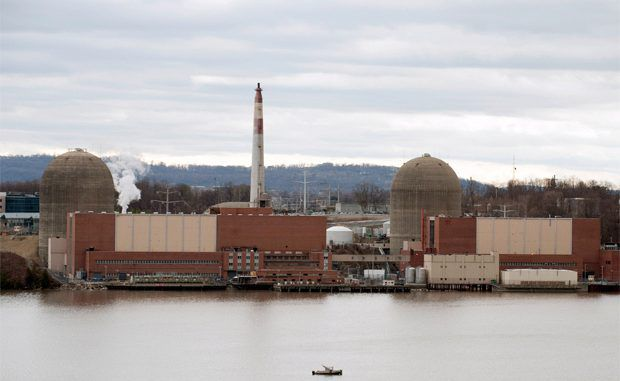 Explosion At Nuclear Power Plant In New York