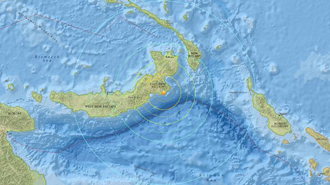 Papua New Guinea: 7.4 Earthqauke And Aftershocks Prompt Tsunami Scare