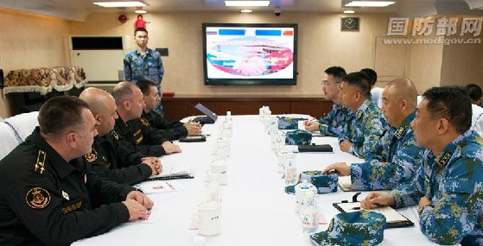 Russia, China Navies To Have First Joint Exercise In The Mediterranean