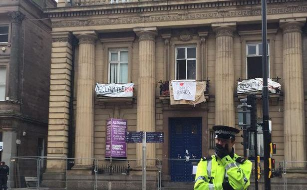 The Love Activists Evicted From Liverpool Bank, Arrested