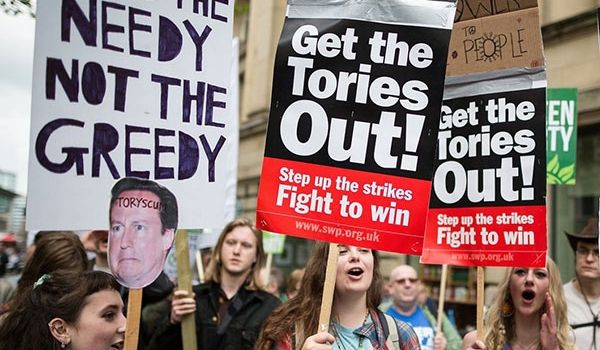 Anti-Tory Protests Planned As Queen Opens Parliament