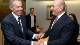 Tony Blair Acts As Character Witness In Ehud Olmert Corruption Case