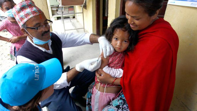 Nepal: 500,000 Children To Get Emergency Measles Vaccinations