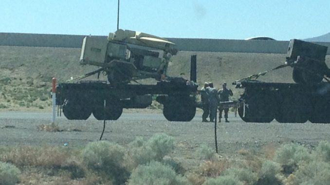 Military Convoy With Microwave Weapons In Jade Helm - News Punch