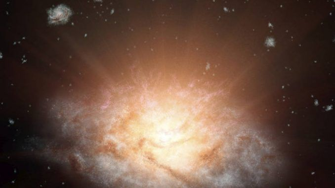 NASA Discovers The Most Luminous Galaxy In The Universe