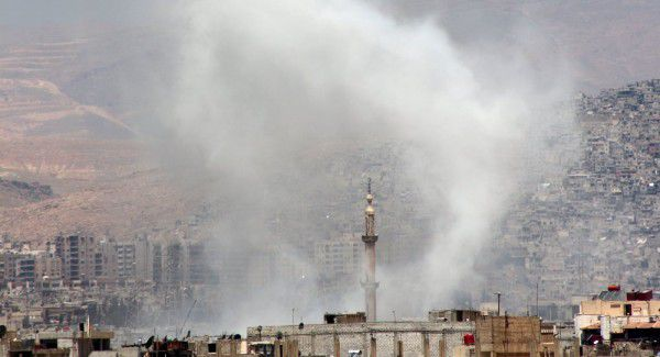 Russian Embassy In Damascus Shelled For Second Time This Week