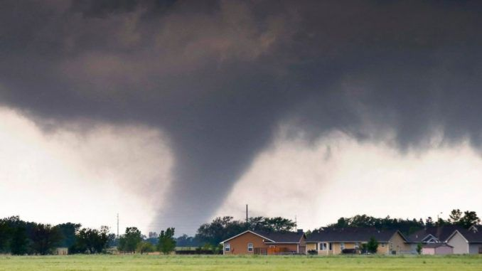 Tornadoes And Floods Hit Oklahoma
