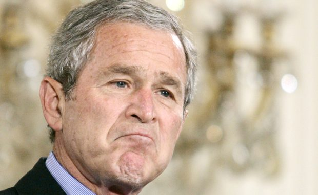 Bush Calls For Boots On The Ground in Iraq And Syria