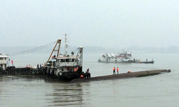 China: Passenger Ship With Over 450 People Sinks In Yangtze River