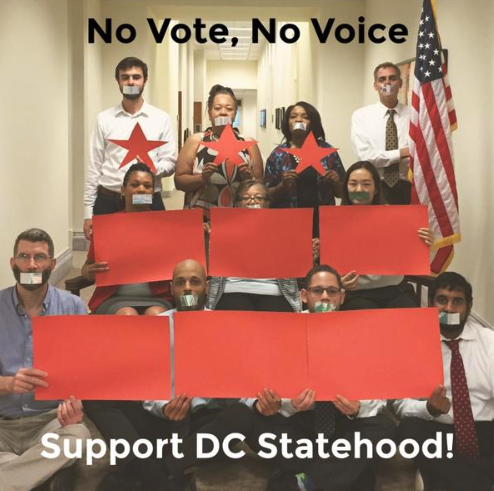 DC Statehood supporters - the 51st state