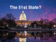 Washington, DC - The 51st state?