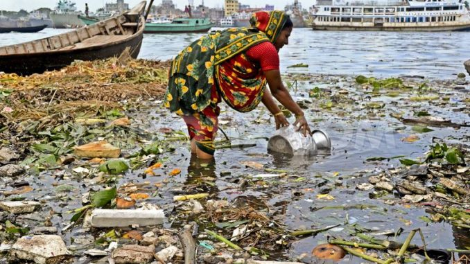polluted water into drinkable water