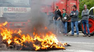 French Farmers Protest Low Meat & Dairy Prices
