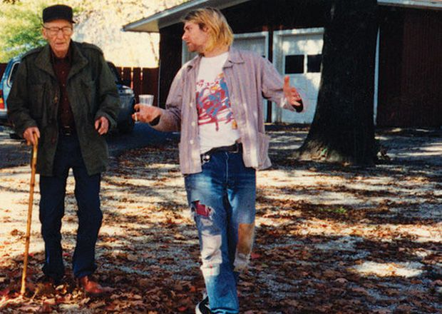 Kurt Cobain meeting William Burroughs in 1993