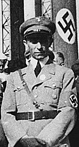 International War Criminal, Dr. Paul Josef Goebbels, The Reich Minister of Public Enlightenment and Propaganda