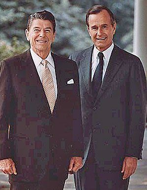 The Real Godfathers of Crack Cocaine & Gangsta Rap, President Ronald Reagan (1981-1989), Vice President & President George H.W. Bush (1981-1993)
