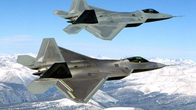 US deploy F-22 fighter jets to Europe amid Russia crisis