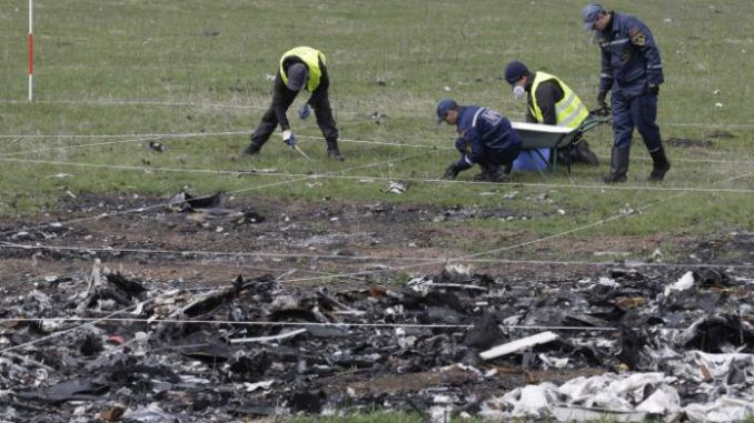 MH17 Russian missile found