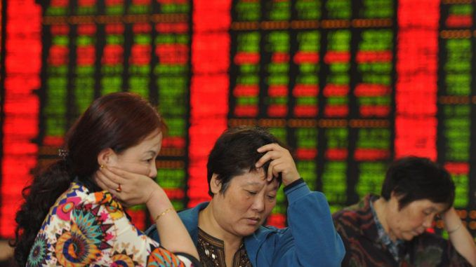 Chinese journalist admit to causing the stock market crash