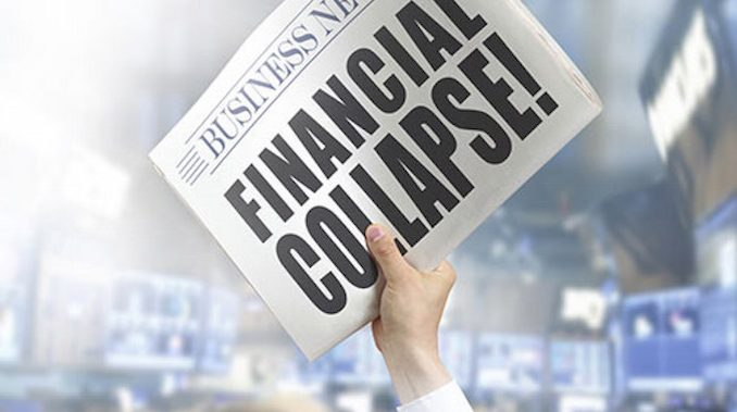 Is a financial collapse imminent?