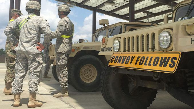 Fort Bragg soldiers involved in nuclear drill