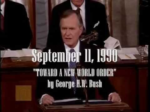 George H.W. Bush ushers in the New World order in 1990 speech