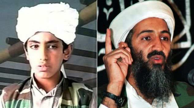 Hamza bin laden, osama bin laden's son urges a holy war on the US