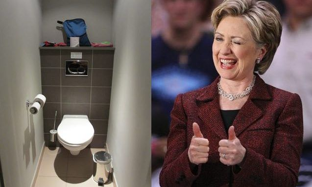 An IT firm have revealed that Hillary Clinton stored the server containing top secret government emails in her home bathroom whilst she was Secretary of State