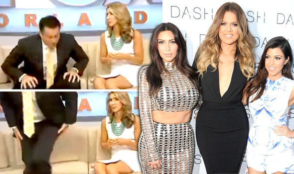 A US News anchor loses his cool live on-air and says he is fed up of the saturated Kardashian coverage