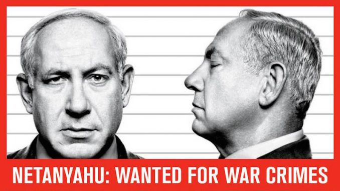 Petition to arrest Netanyahu for war crimes committed in Gaza