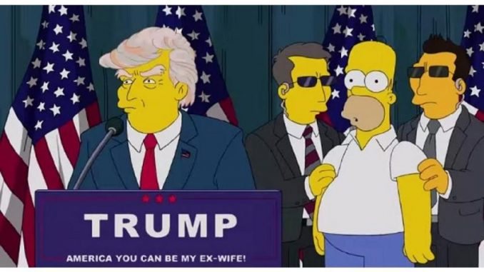 The Simpsons predicted Donald Trump would become President in a 2000 episode