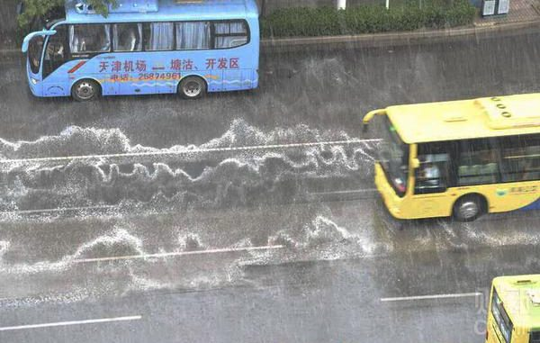 A mysterious white foam has been seen raining down on the streets of Tianjin, China following the explosions a few days ago