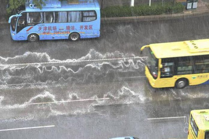 0fefe3581fd Rainfall containing a mysterious  white foam  is falling in Tianjin and  it s causing burning and stinging sensations as it comes into contact with  people s ...