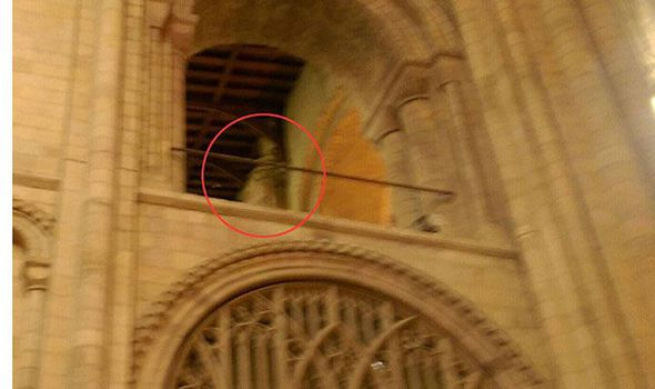 ghost at cathedral