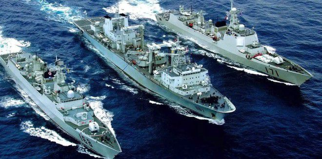 Chinese Naval ships