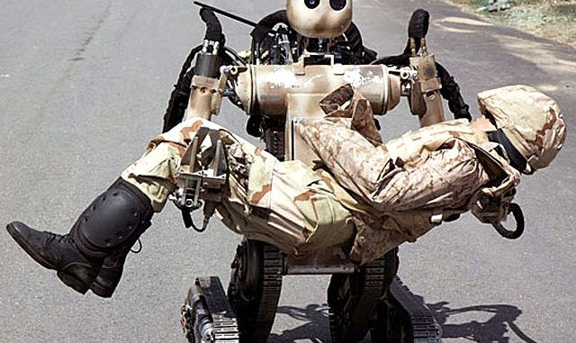 Google's battlefield robot is tested as it 'fights' with U.S. marines