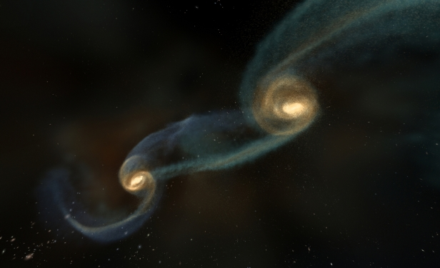 NASA say two black holes are on a collision course to destroy the galaxy