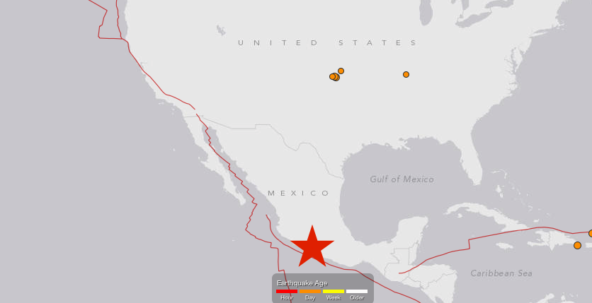 earthquake mexico