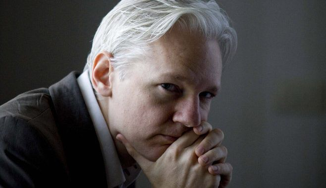 Julian Assange says the US government is ruthless in its ambition to overthrow international governments who are considered 'unwanted'