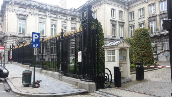 Brussels parliament building is evacuated due to bomb threat on 23rd September 2015