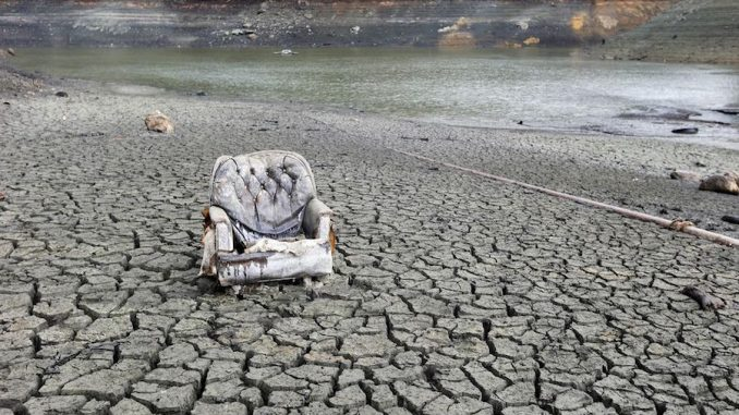 Is the California drought a big government conspiracy?