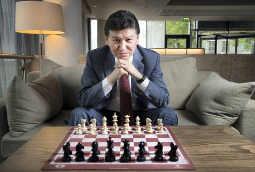 The leader of world chess has claimed that aliens invented chess