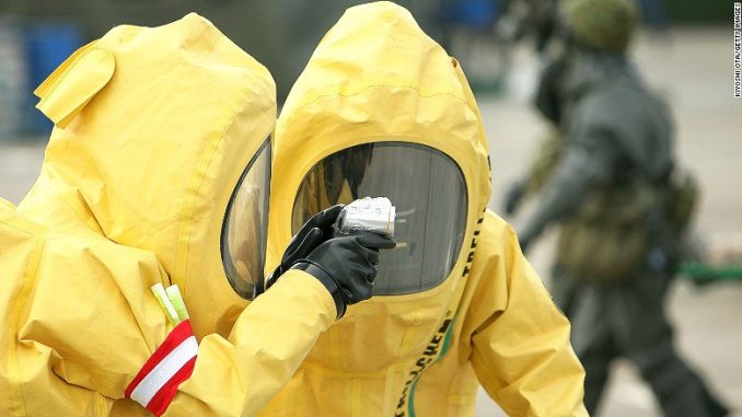 Radioactive dirty bomb material has been stolen from Texas