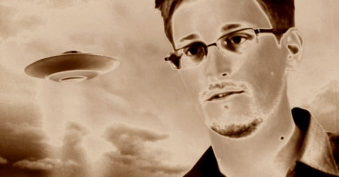 Edward Snowden has said the only thing preventing aliens from communicating with humans is encryption