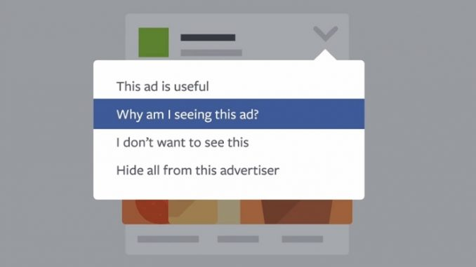 What Facebook Tells Advertisers About You