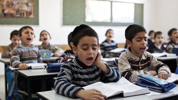 "Kids as young as 3 were taught that non-jews were ""evil"" at a London school"